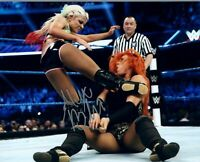 Alexa Bliss WWE WWF Diva Autographed Signed 8x10 Photo REPRINT ,