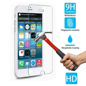"""TEMPERED GLASS FILM SCREEN PROTECTOR 4.7"""" FOR iPHONE 6 NEW GENUINE HARD GOOD"""
