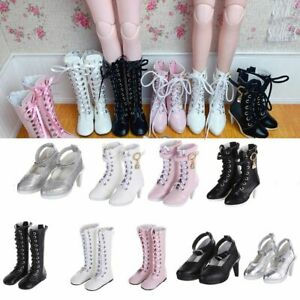 1/3 Play House Accessories 60cm Doll Boots Fabric Shoes Differents Color