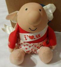 Vintage Ziggy Plush Doll Valentine's Day I Love You Cherub Tom Wilson 1988