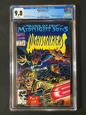 Nightstalkers #1 CGC 9.8 (1992) - Ghost Rider & Doctor Strange app