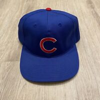Vintage Outdoor Cap Company Chicago Cubs Hat MLB SnapBack Hat VTG 90s Blue