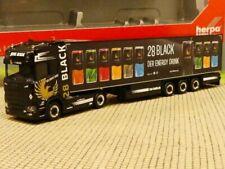 1/87 Herpa Scania CS 20 HD TSU Bode 28 Black Kühlkoffer-Sattelzug 312509