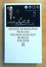 Wem die Stunde schlägt - Ernest Hemingway  (Ungelesen)
