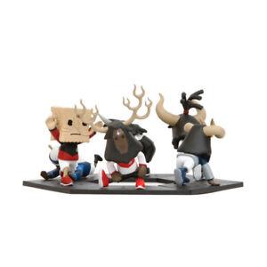 Original Street Culture Bull Athletes series Vinyl Figurine Designer Toy Dolls