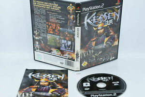 Kessen Sony Playstation 2 PS2  #3167