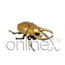 Escarabajo Dorado Imitación Insecto Rinoceronte Ideal Asustar a1536
