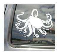 Octopus - Tako Spear Fishing - Car Auto Window Vinyl Decal Sticker 01205