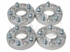 "5x4.5 to 5x5 1.25"" Hub Centric Wheel Spacers Adapters 1/2x20 Studs Jeep JK MJ SJ"