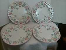 Churchill English Tableware Staffordshire, Briar Rose, 4 Dinner Plates