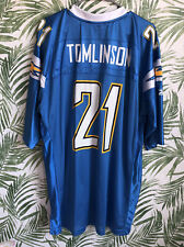 San Diego Chargers LaDainian Tomlinson Reebok Authentic NFL Football Jersey XL