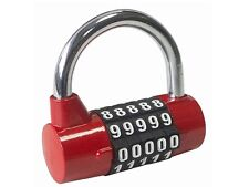 Combination Padlock - 5 Digit Combination Padlock - Zinc Alloy body