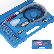 17Pcs Micro Air Die Grinder Kit Mini Pencil Polishing Rotary Cutting Tool  Set