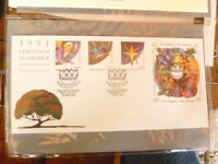 NEW ZEALAND  1991  SET OF 6  FIRST DAY COVER  CHRISTMAS