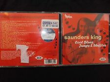 CD SAUNDERS KING / COOL BLUES JUMPS & SHUFFLES /