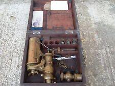 Richards Steam Engine Indicator - Elliott Brothers - For Restoration - As Photo
