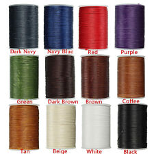 0.8mm 78M Leather Sewing Waxed Thread For Chisel AWL Upholstery Shoes Luggage