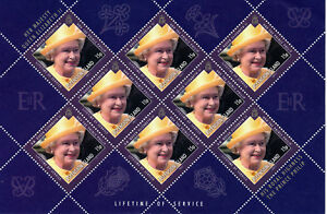 """ASCENSION 2011 """"LIFETIME OF SERVICE"""" POSTAGE AT 40% FACE VALUE 100 x 15p MNH"""