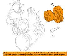 CHRYSLER OEM-Serpentine Fan Belt Tensioner 53030958AG