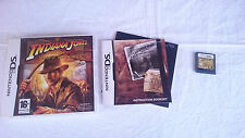 INDIANA JONES AND THE STAFF OF KINGS NINTENDO DS DSI 2DS 3DS XL PAL UK INGLÉS