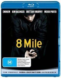 8 Mile - Rare Blu-Ray Aus Stock New Region B