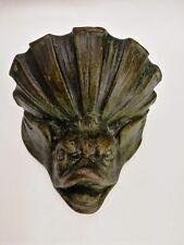 Ancien Bénitier en Bronze , Très Belle Patine , XVIIIEME ...