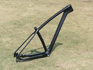 "carbon fiber Matt 29er Mountain Bike Frame MTB Bicycle Frame 19"" Bsa"