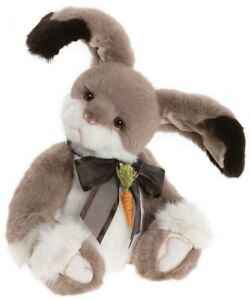 Carrot Top by Charlie Bears - jointed plush bunny rabbit teddy bear - CB202045A