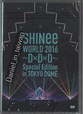SHINee WORLD 2016~DxDxD~ Special Edition in TOKYO DOME (2016) 2DVD SEALED