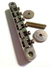 Aged ABR 1 TOM Bridge Nickel Unwired Brass Saddles Montreux fits Les Paul ®