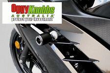 OK603 KAWASAKI NINJA 300 2012-17 OGGY KNOBBS KIT (BLACK KNOBS) Crash Protection