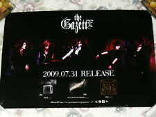 the GazettE DIM NIL 2009 Taiwan Promo Poster