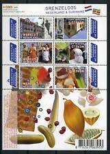 Nederland 2752-2757a Grenzeloos Nederland-Suriname 2010 vel Fruit