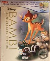 BAMBI (Blu-ray + DVD + Digital + 32-Page Storybook)  New Target Exclusive