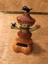 Scarecrow Girl Solar Toy