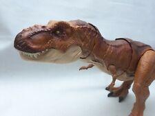 Jurassic World Fallen Kingdom Thrash 'n Throw Tyrannosaurus T-Rex 2017 Mattel 22