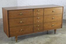 Walnut Mid-Century Modern Antique Dressers
