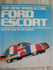 Ford USA Escort brochure Aug 1980