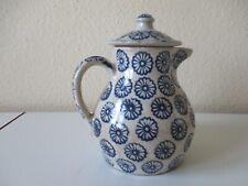 Bunzlauer Keramik Kaffeekanne Bunzlau um 1920