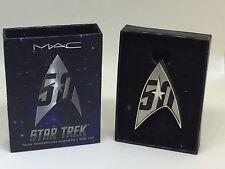 Limited Edition MAC Cosmetics Star Trek 50th Anniversary Magnetic Lapel Pin
