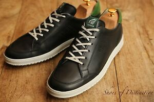 Men's Hogan Tods Tod's Black Leather Shoes Trainers Sneakers UK 9 US 10 EU 43