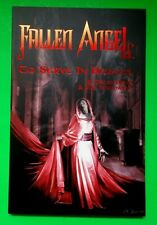 FALLEN ANGEL TO SERVE IN HEAVEN PETER DAVID & J. K. WOODWARD IDW NEW SOFTCOVER