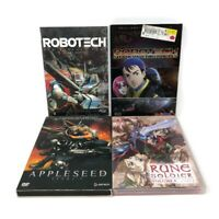 Anime DVD Lot Robotech Shadow Chronicles First Contact Appleseed Rune Soldier 6