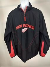 Detroit Red Wings NHL Windbreaker pullover Reebok.Hockey Beauitiful Cond #329