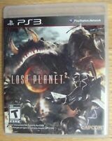 LOST PLANET 2 COMPLETE PS3 SONY PLAYSTATION 3 GAME