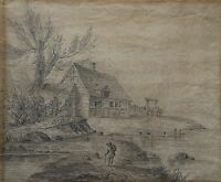 Martin Signed - 1805 - Landscape With Old Kate - Drawing - Sketch Study