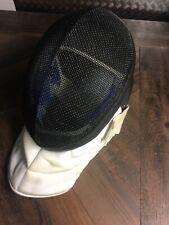 Linea Black White Blue Fencing Gear Helmet Mask 350Nw France