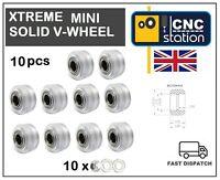 Mini Xtreme Solid V Wheel Polycarbonate V-Slot C-Beam Profile Rail 3D Printr CNC