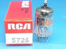 RCA 5726 6AL5 W VACUUM TUBE NOS PERFECT SINGLE NIB MILITARY SPEC