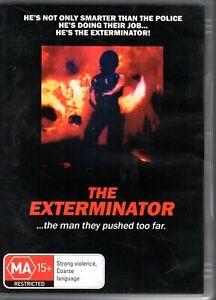 THE EXTERMINATOR - DVD REGION 4 PAL Christopher George - LIKE NEW - RARE